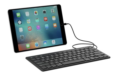 zagg wired lightning keyboard review easy ipad or iphone typing. Black Bedroom Furniture Sets. Home Design Ideas